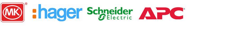 Electrical installation supplier logos